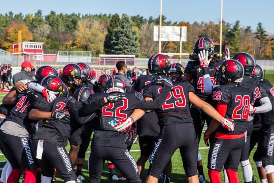 Football Recognized With Naia Champions Of Character Award