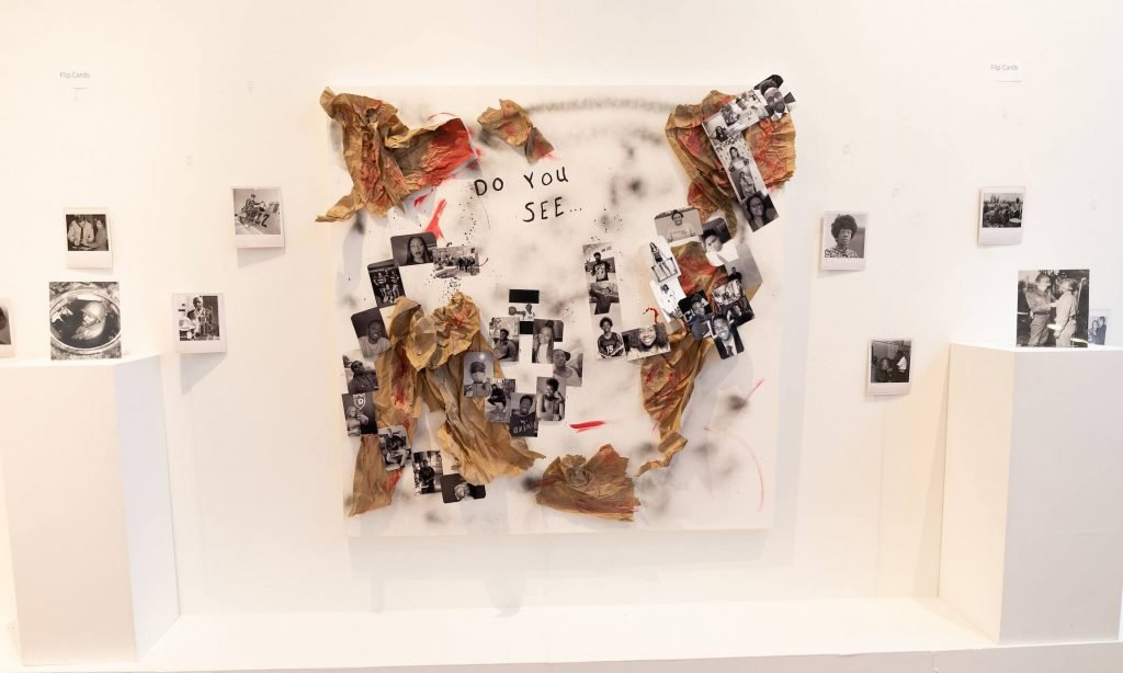 Cheff expands on meaning of gallery exhibit piece titled 'Do You See…'