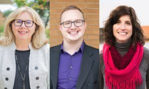 Halsell, Chappuis, and Burns-Ross join CUAA faculty in 2019