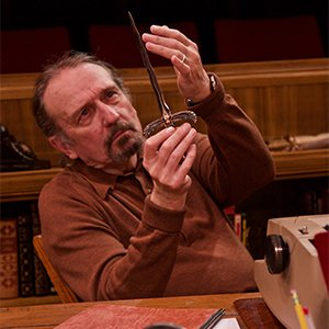 """Charles Numrich as Sydney Bruhl in """"Death Trap"""" at Theatre in the Round in Minneapolis."""