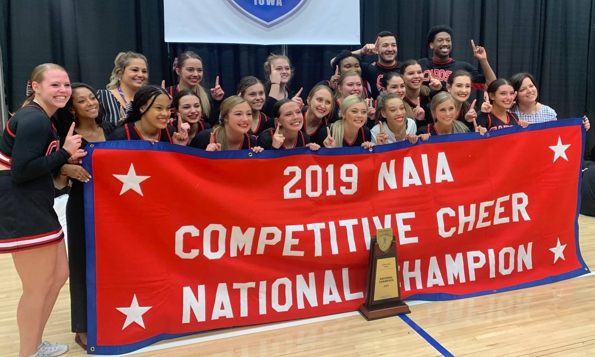 Cheer National Champions 2019