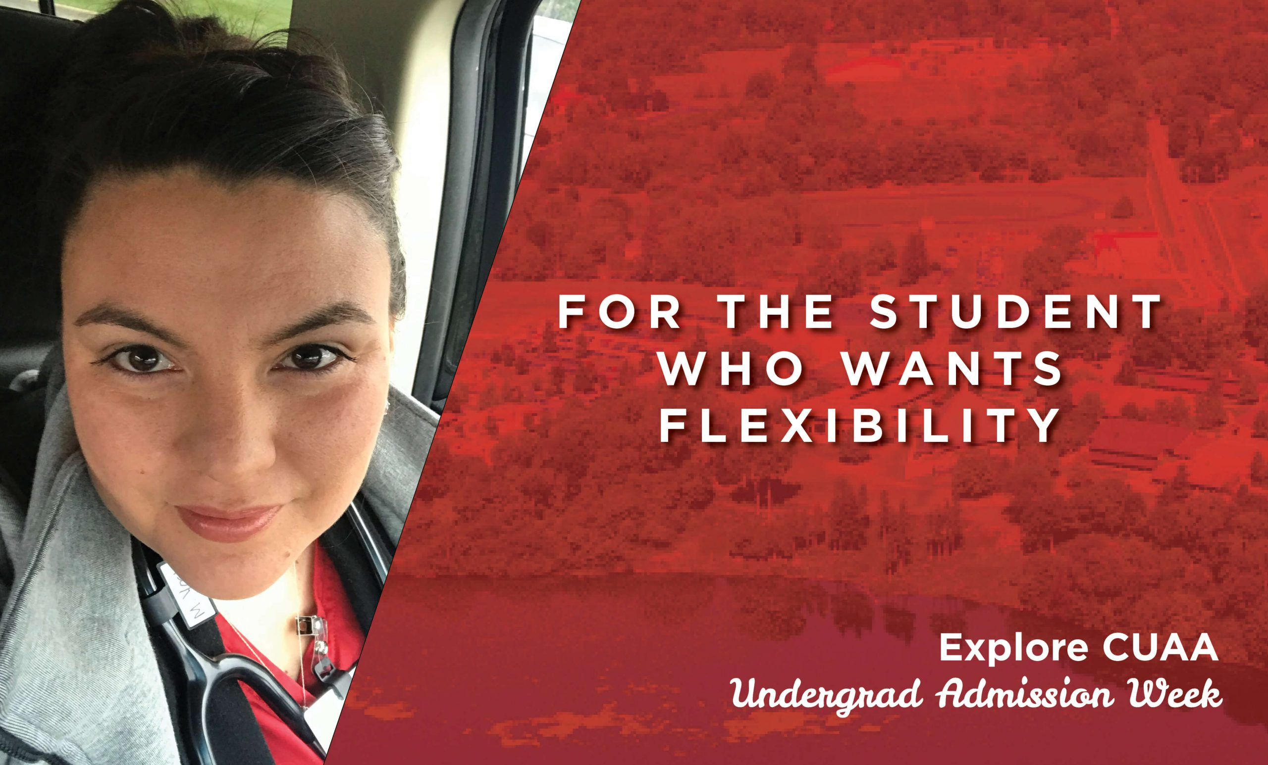 For the student who wants flexbility