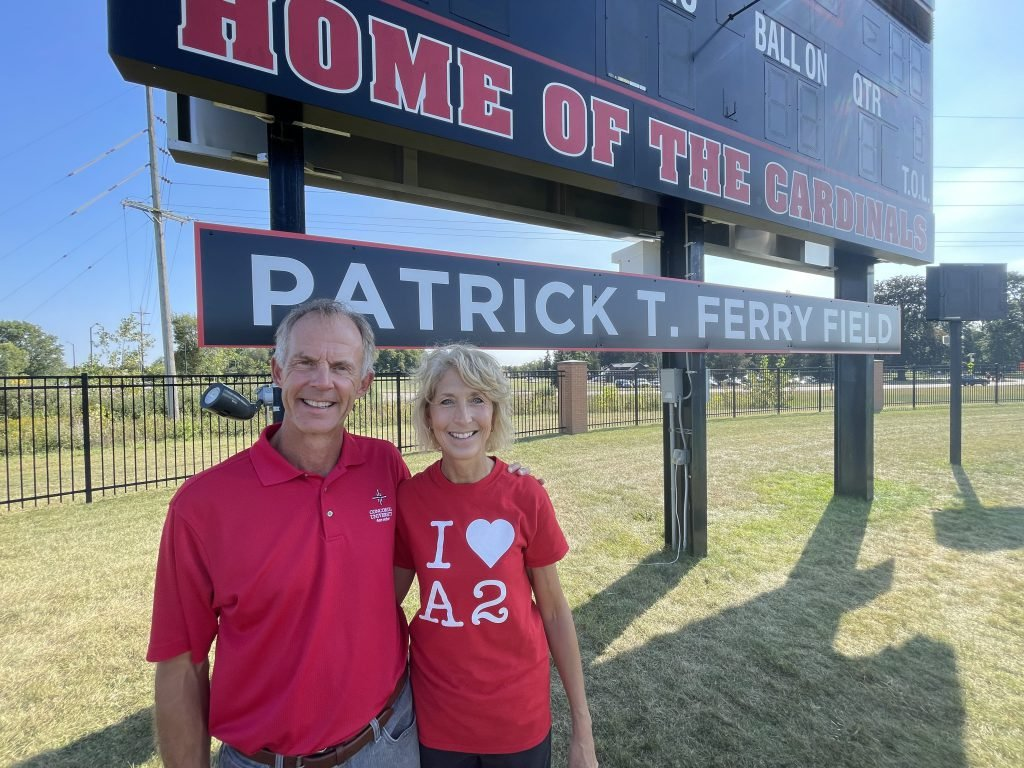 Ferry Field naming ceremony