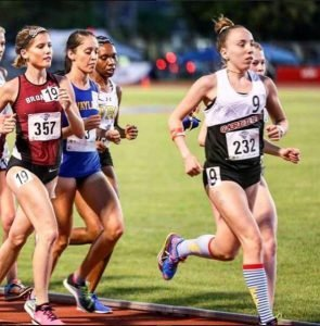 Stephanie Johnston ('18) hits her stride at Concordia