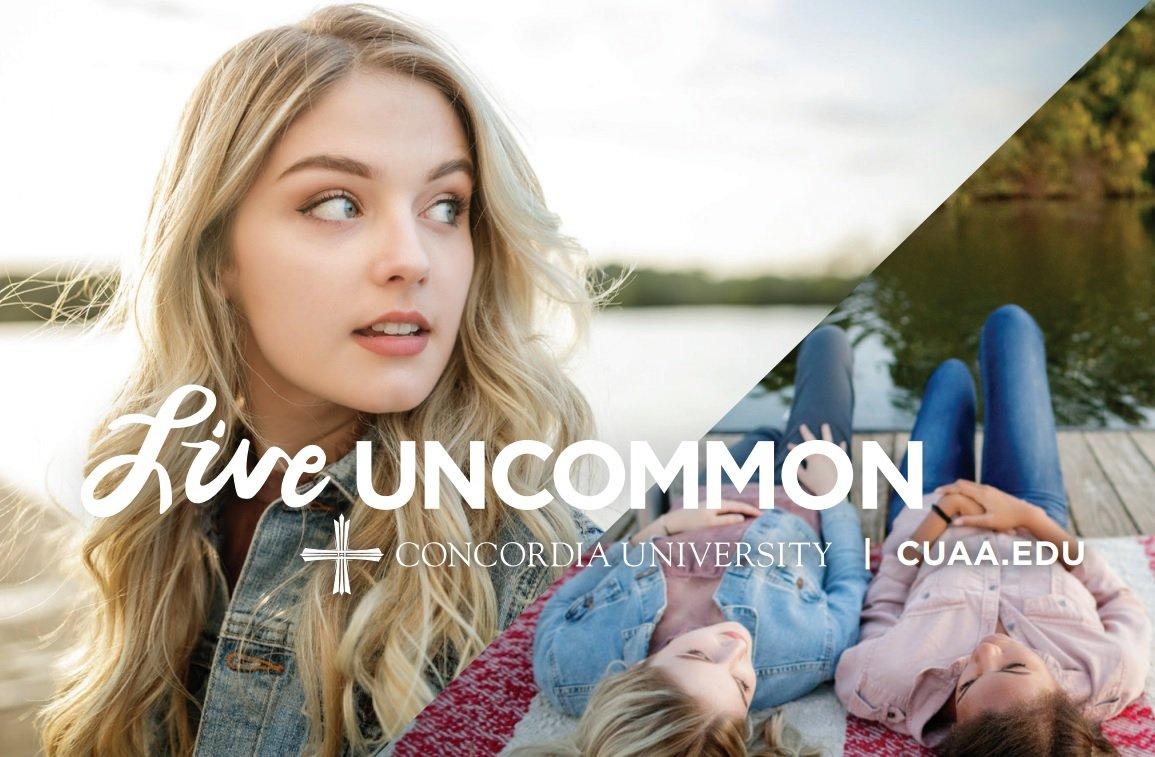 Concordia University. Live Uncommon.