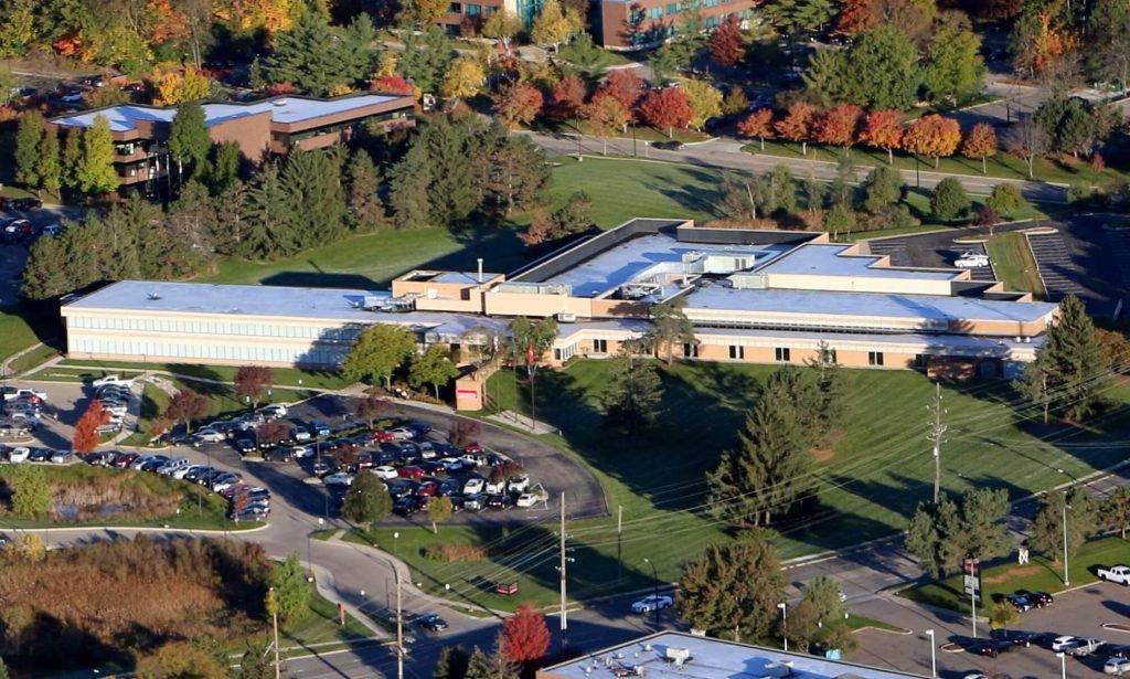 North Building aerial