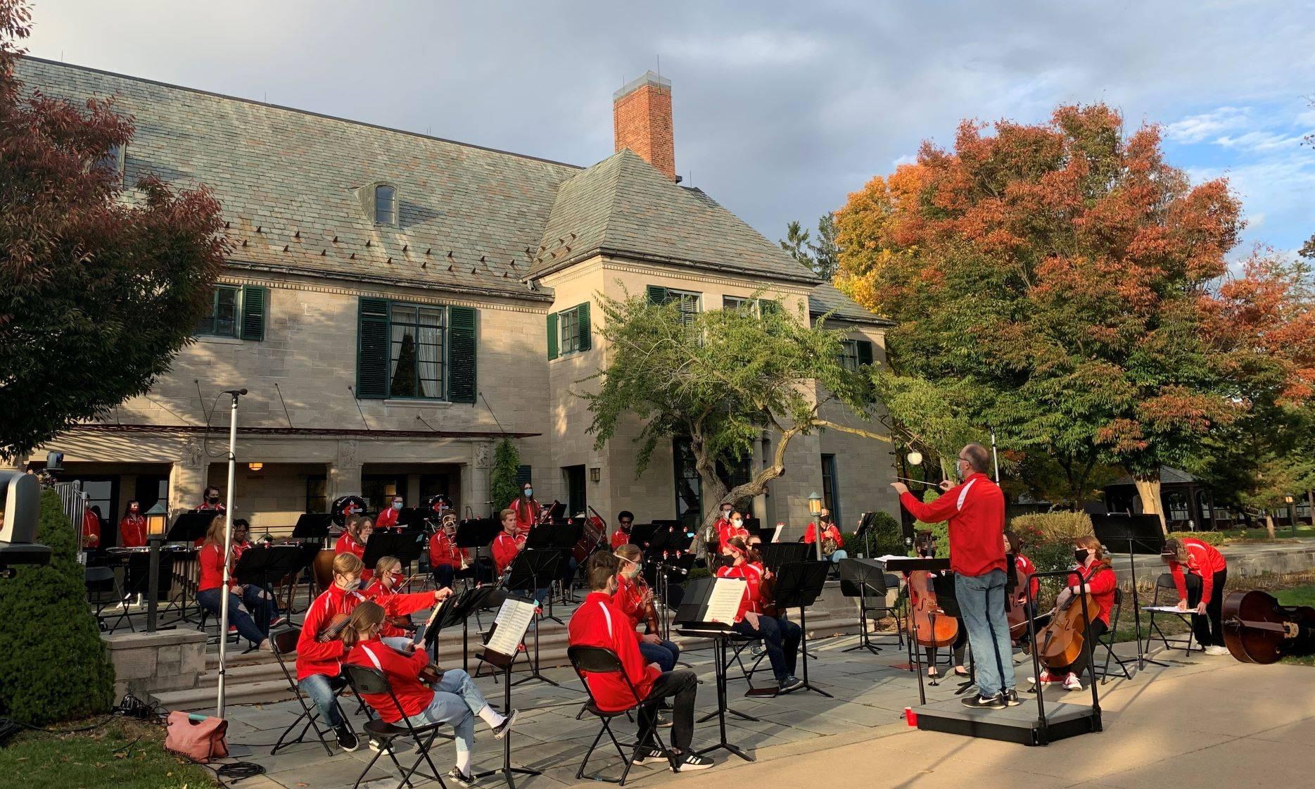 CUAA Outdoor Fall Concert