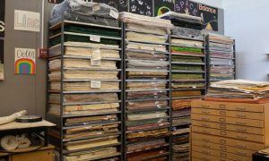Concordia receives massive art paper donation from local shop owner