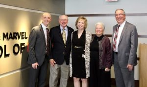 School of nursing's namesake honored with recognition ceremony
