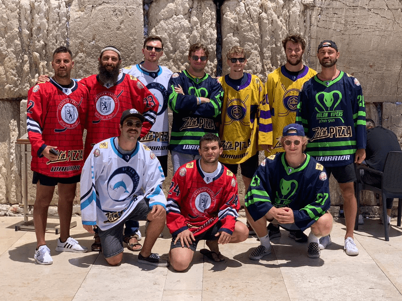 Hockey in the Holy Land