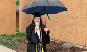 CUAA seniors celebrate academic, department awards