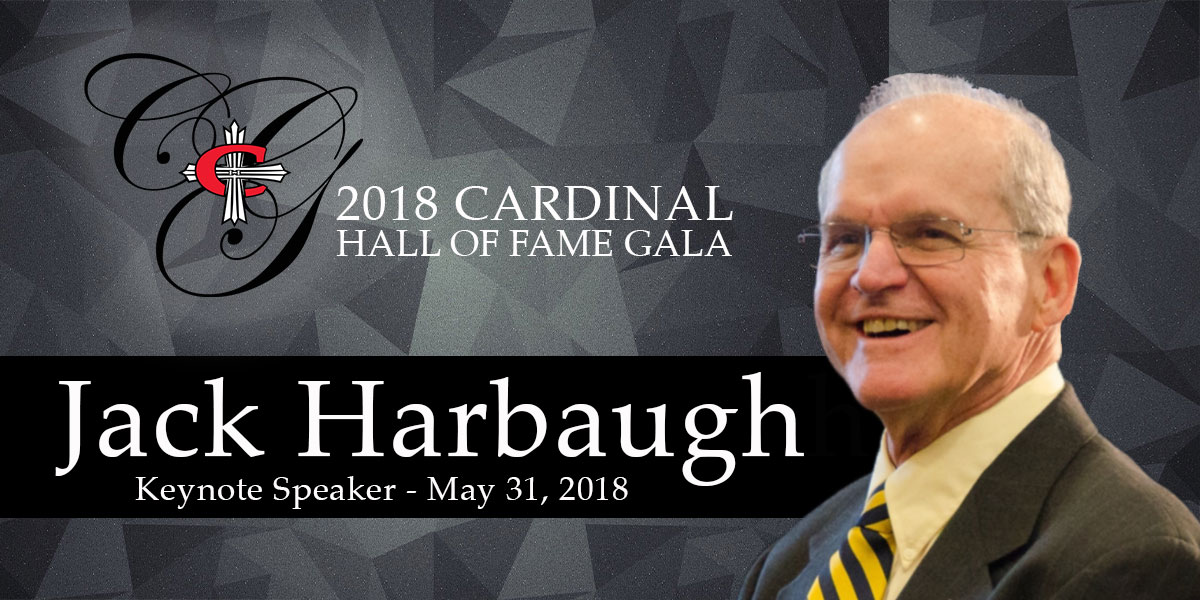 Jack Harbaugh to speak at 2018 CUAA gala