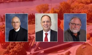Three alumni receive special honors at spring commencement