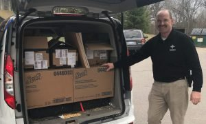 Concordia provides needed supplies to community organizations