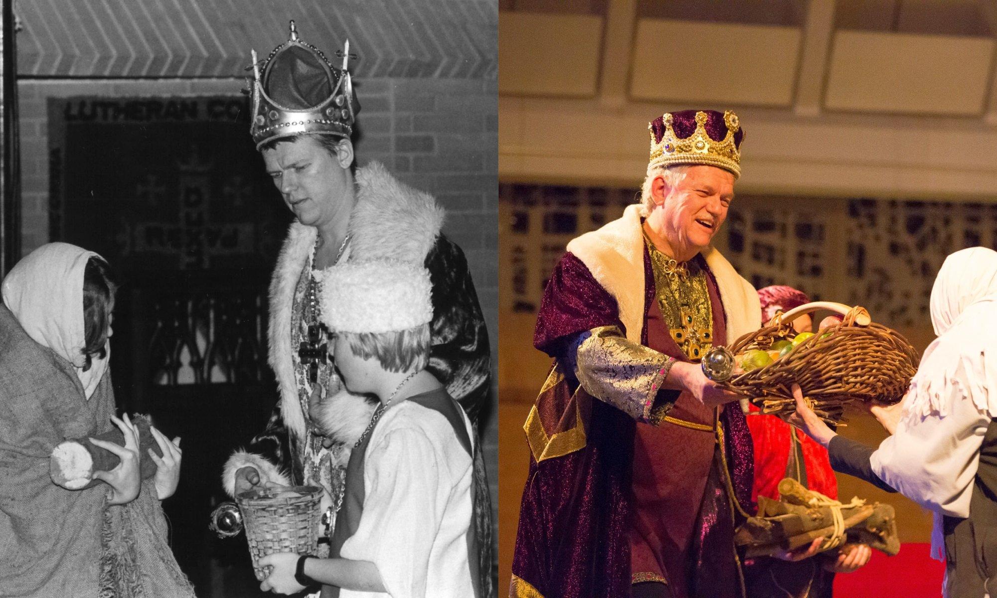 King Wenceslas through the years