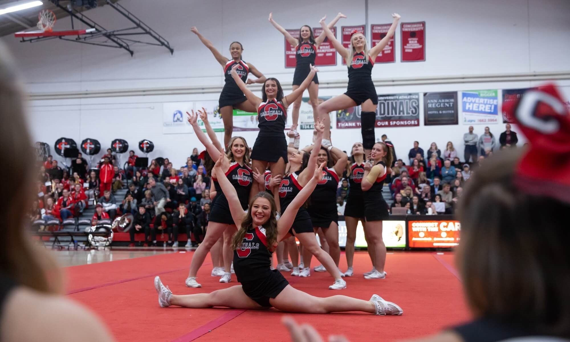 CUAA cheer team is national championship bound