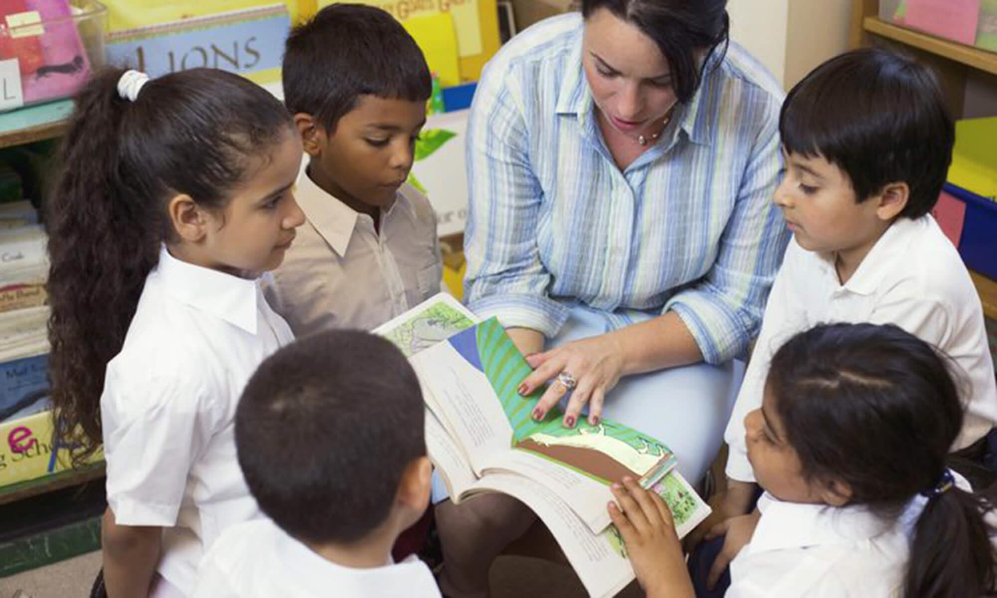 Multicultural classroom