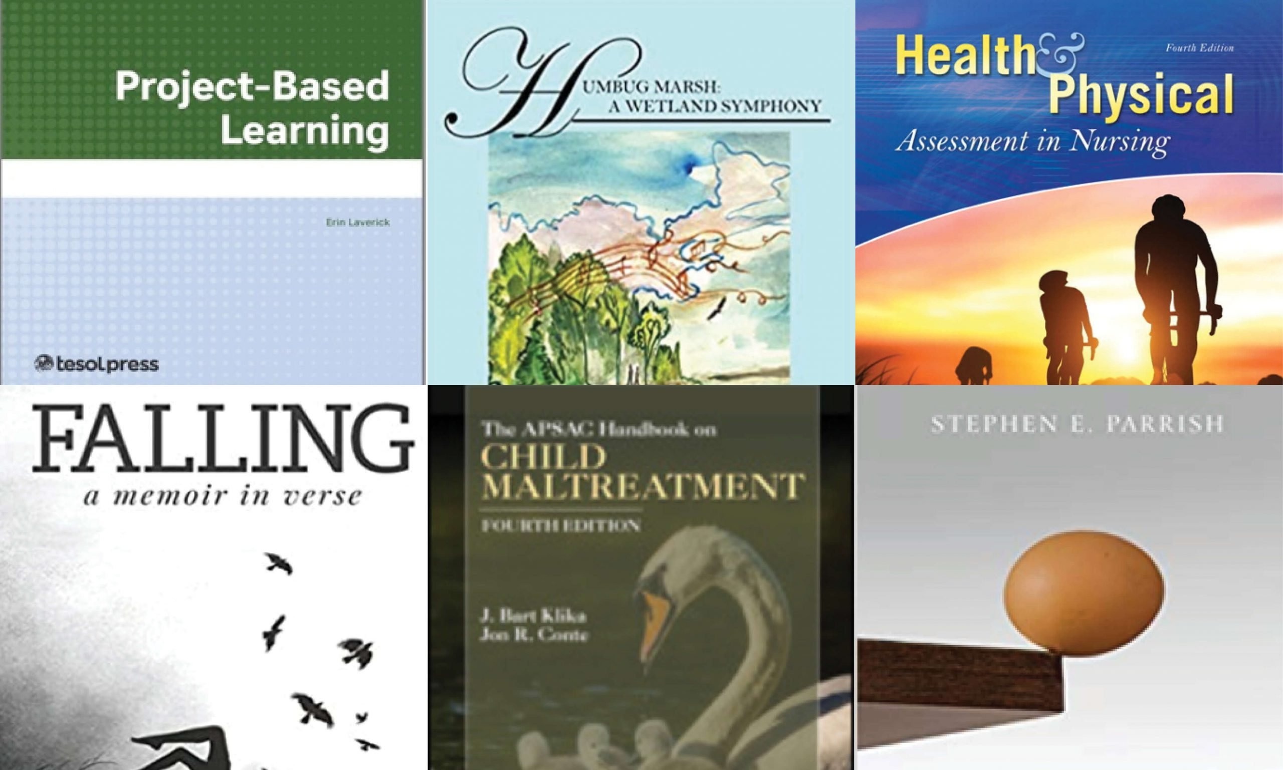 Published titles from CUAA employee authors