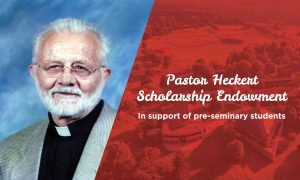 New Heckert endowment supports pre-sem students at CUAA