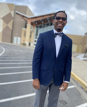 Willie Garrison, Ed.D. student, is working for a more equitable school environment.