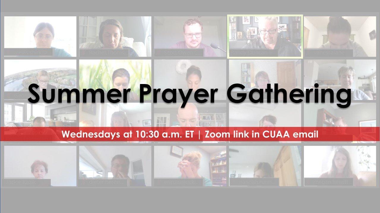 summer prayer gathering